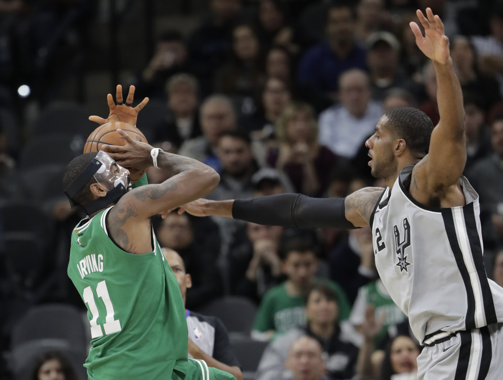 Spurs Hit Late 3 Pointer To Complete Rally Against The