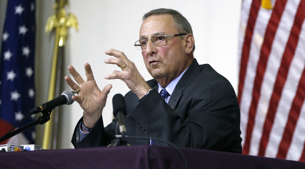 Our View: LePage's Medicaid stance subverts the voters' will