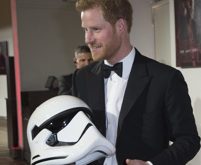Rumor has it Britain's Prince Harry and his brother have a cameo in 'The Last Jedi.'