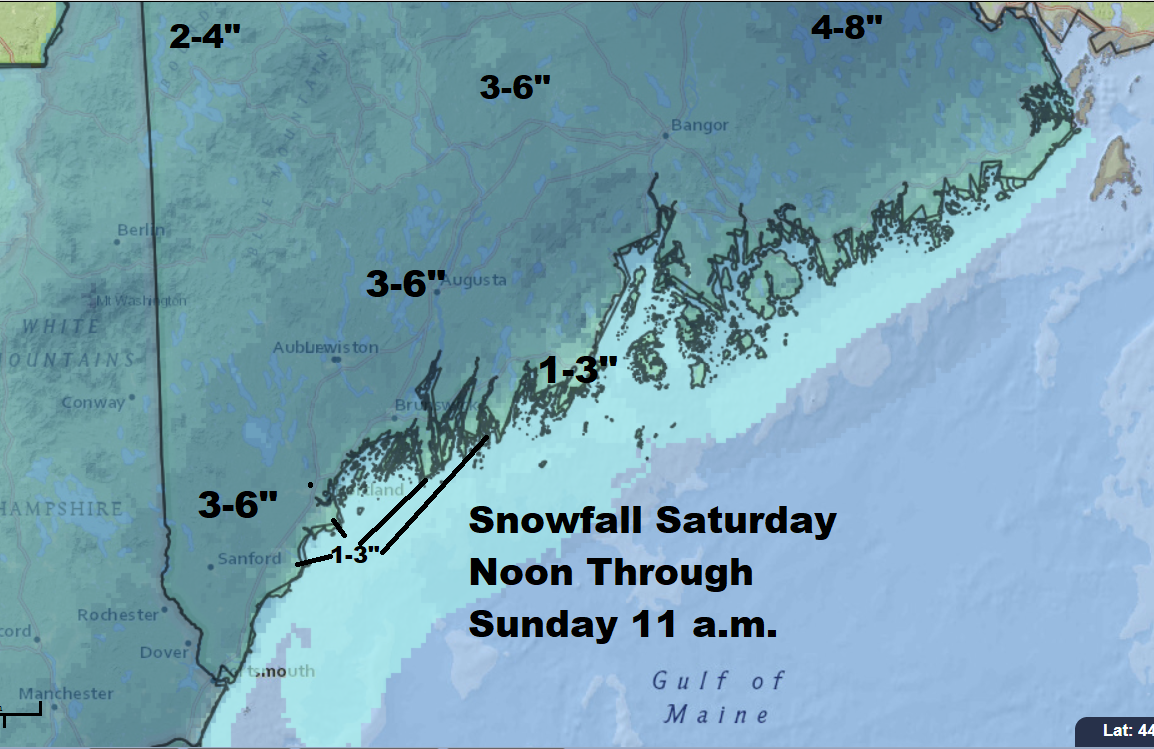Snow possible Friday morning for North Shore; winter weather advisory issued