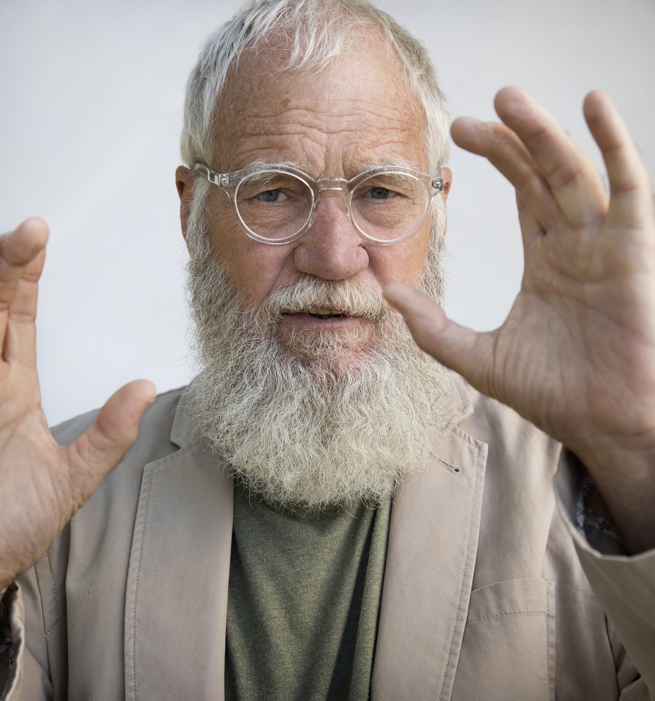 David Letterman is the host of a new longform interview show on Netflix