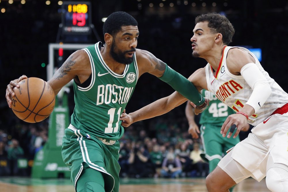 Trae Young, Kyrie Irving