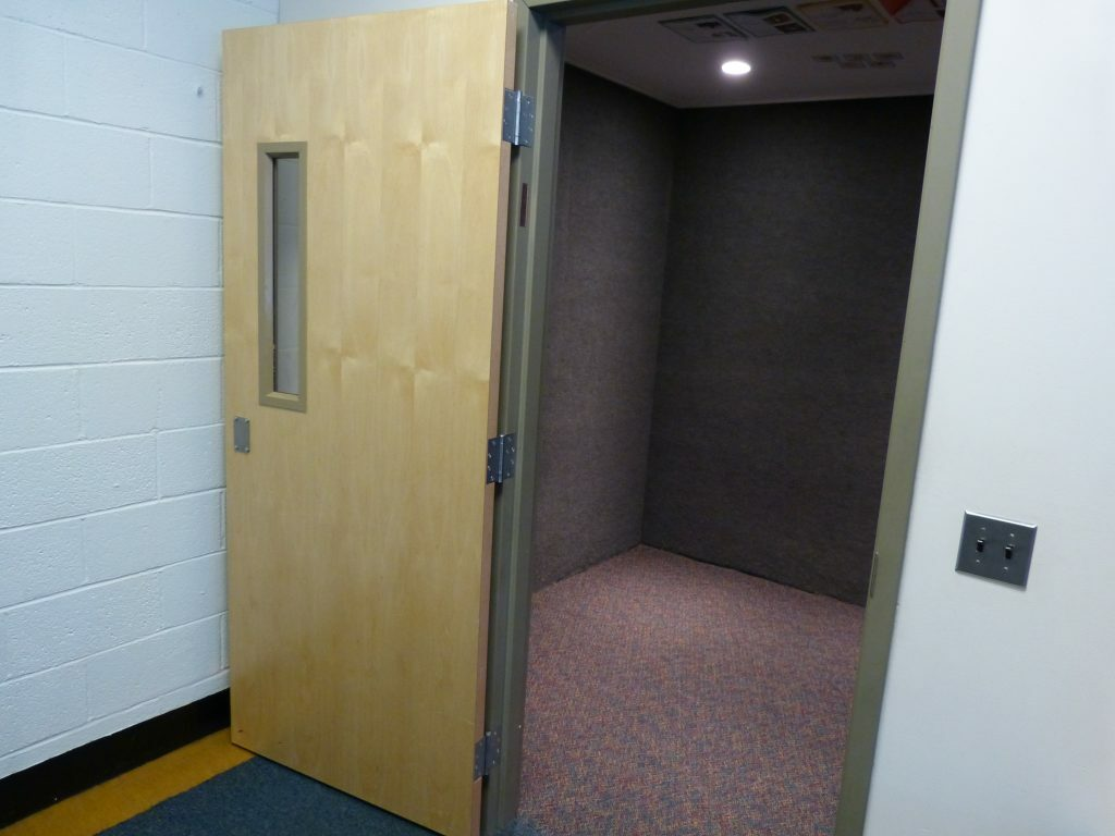 "A seclusion room, also called a ""quiet"" room, at Harpswell Community School, is at issue with a mother who says both her sons have spent time in the room she claims is dangerous."