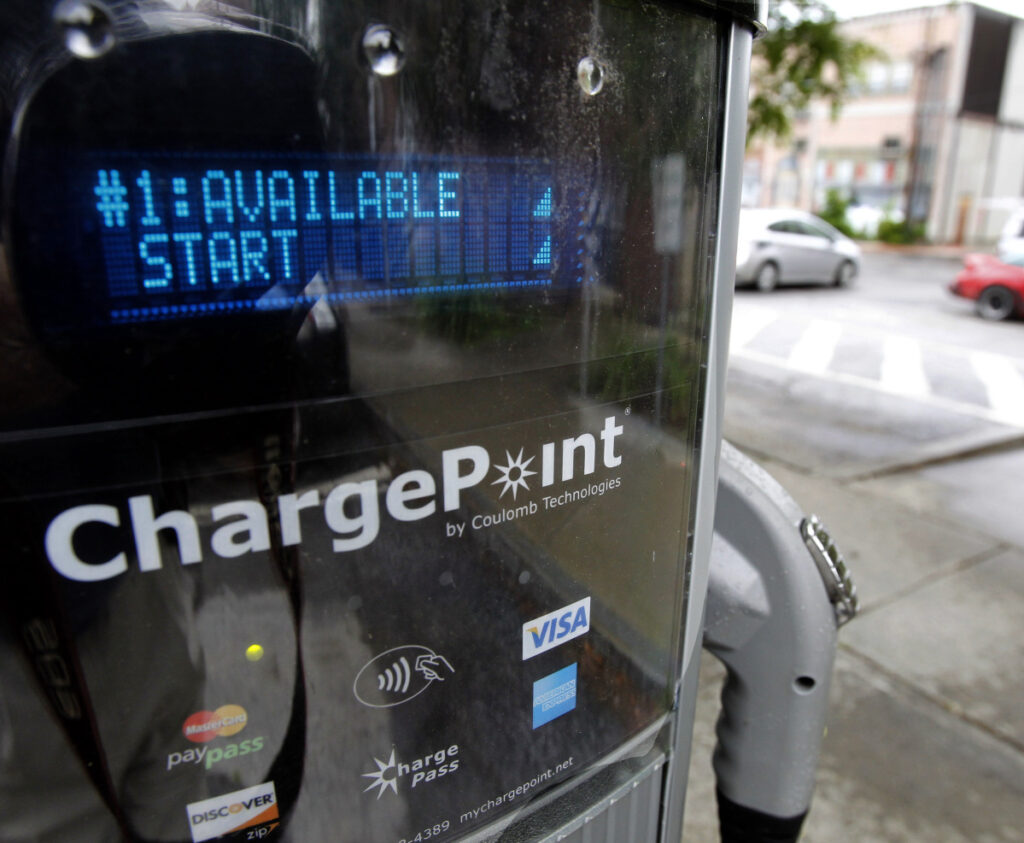 Efficiency Maine contracted with ChargePoint, a California company, to install and operate seven ultra-fast charging stations for electric vehicles on highways from southern Maine to the Quebec border.