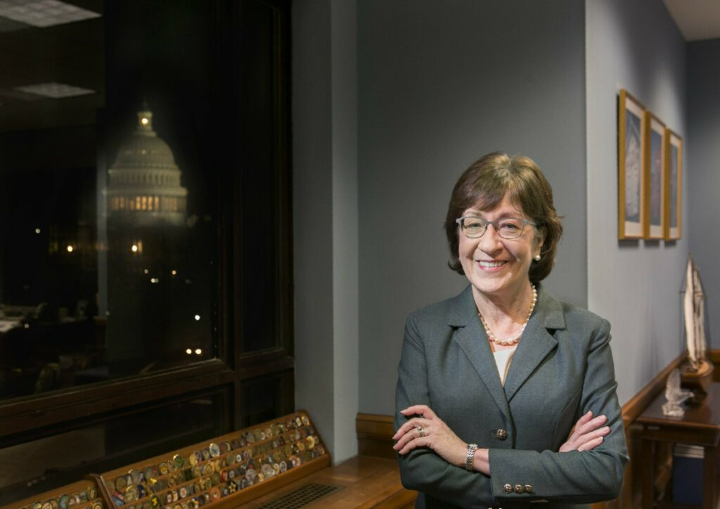 Susan Collins hauls in cash for 2020 re-election campaign