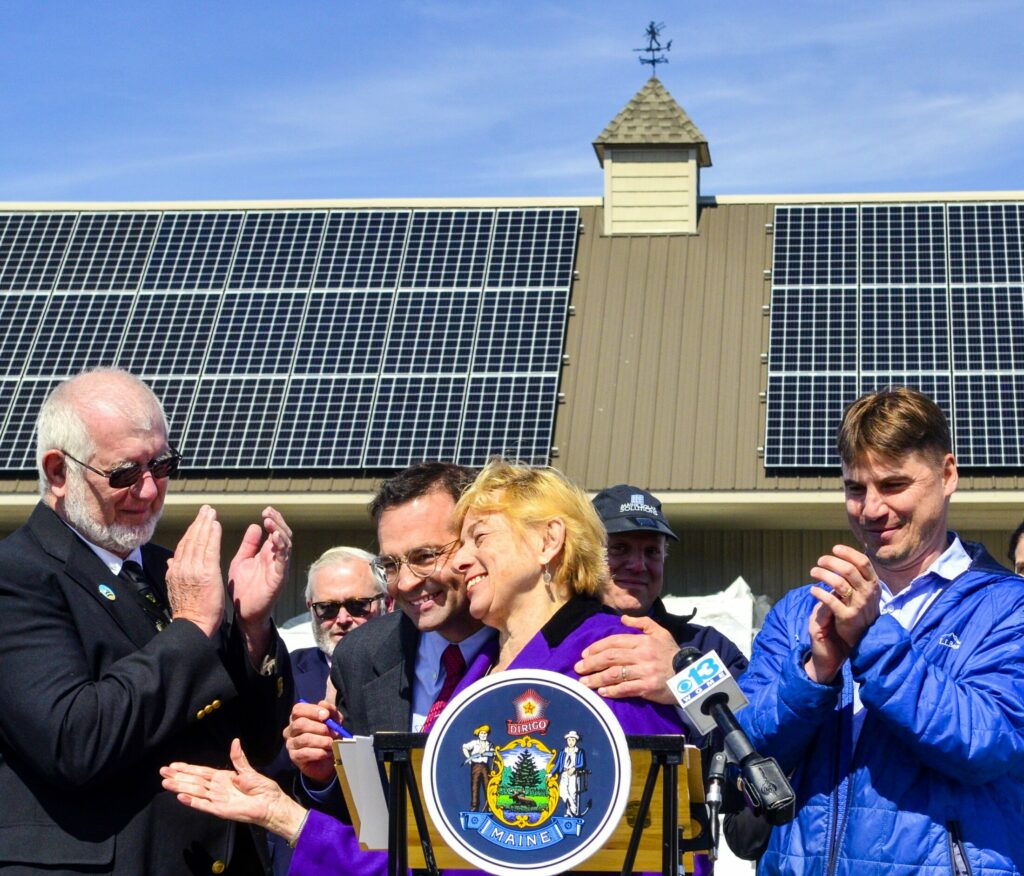 Two bills that would provide solar power incentives and increase the amount of renewable power sold in Maine are headed to Gov. Janet Mills' desk. Mills made renewable energy policies a priority of her administration. In April, she celebrated an earlier legislative change that enhances solar power use.