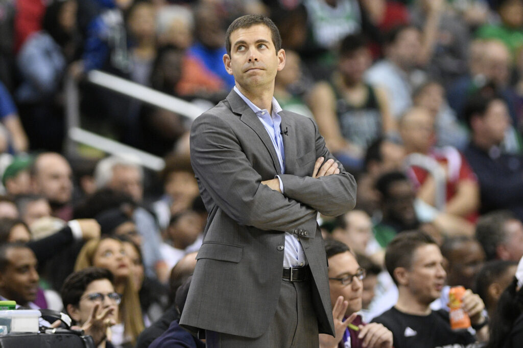 It's been a frustrating season at times for Boston coach Brad Stevens. Now he's looking to turn the page as the Celtics begin a playoff series with Indiana.