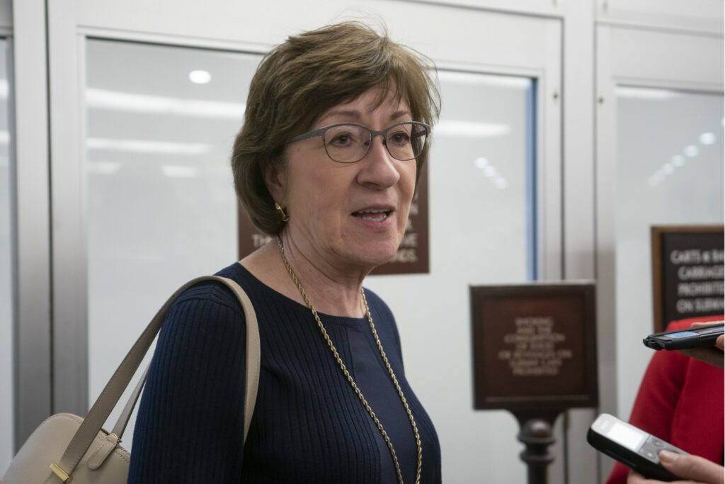 Collins sides with Dems to oppose controversial judicial nominee