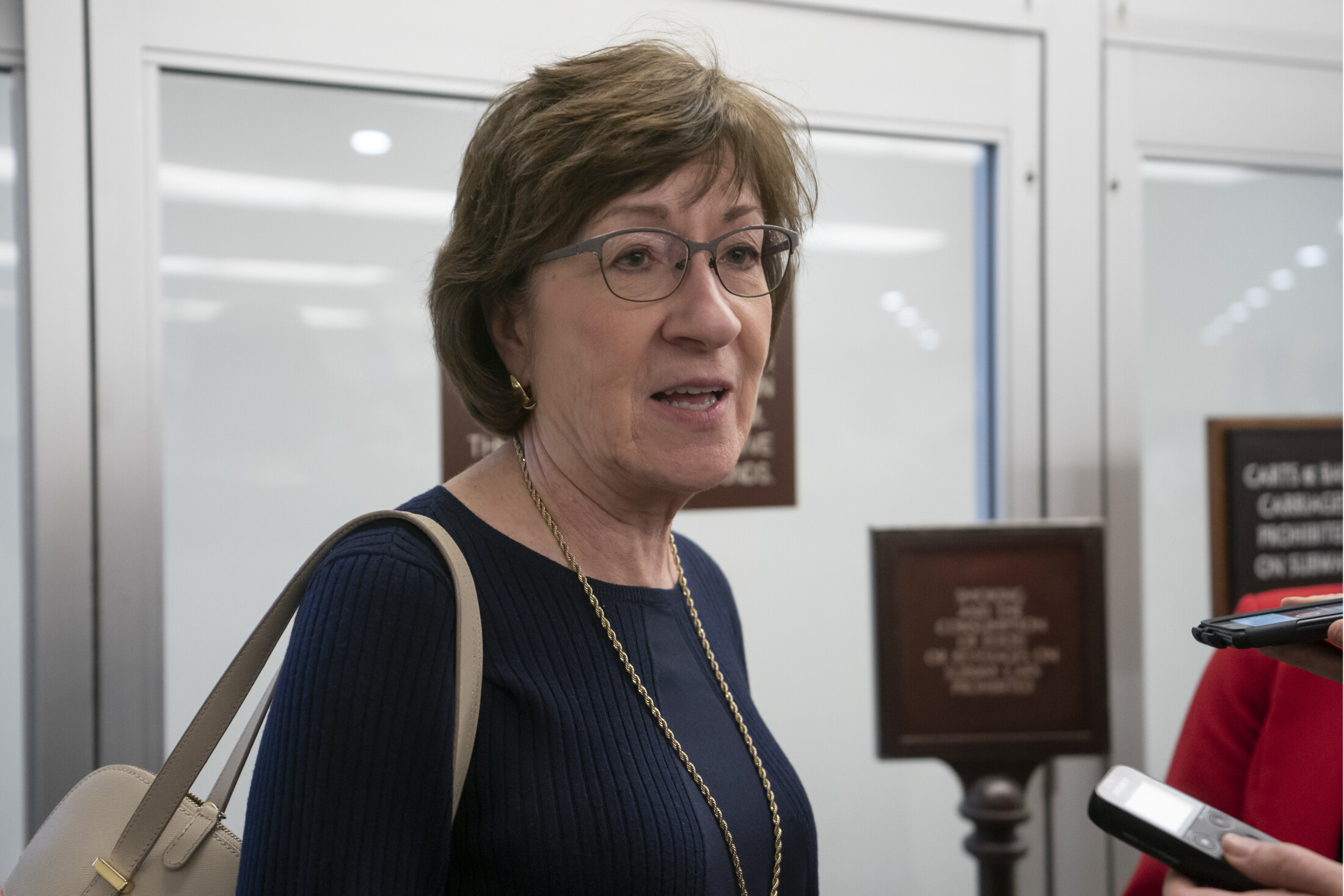 Collins joins bipartisan effort to end Trump's use of military funds for border wall - CentralMaine.com