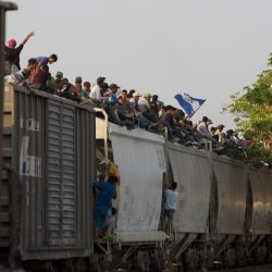 APTOPIX_Mexico_Migrant_Train_44762