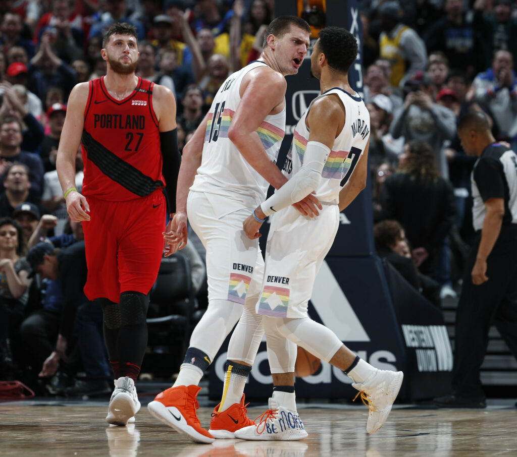Nuggets Murray: Tuesday's NBA Notebook: Jokic-Murray Combination A Hit For