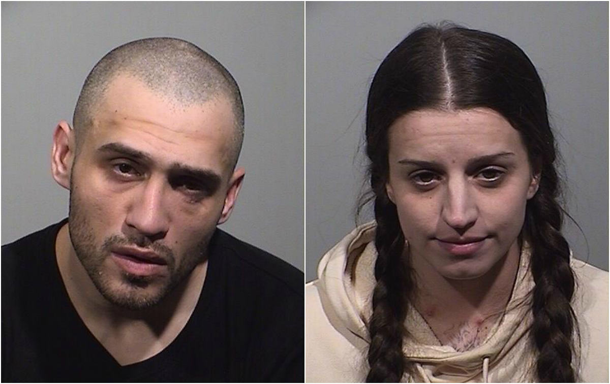 Westbrook police charge 2 with dealing meth, fentanyl near