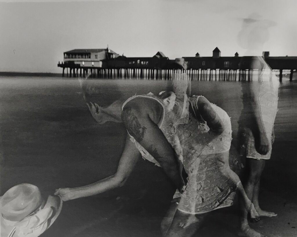 """Raptured Moment,"" ongoing series by Joseph Della Valle, untitled. Silver gelatin print, 2018"