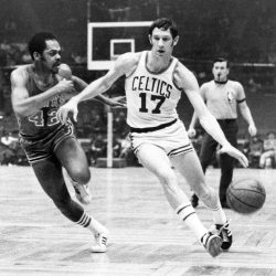John Havlicek and Walt Hazzard