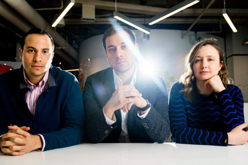The founders of Legacy, a sperm-freezing company based at the Harvard Innovation Labs in Cambridge, Mass., include Daniel Madero, head of clinic partnerships; Khaled Kteily, chief executive; and Sarah Steinle, head of marketing.