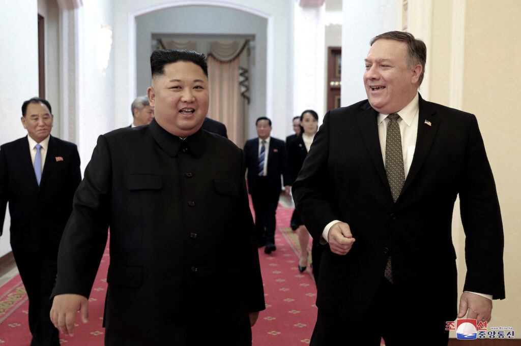 On April 18, North Korea said it wanted Secretary of State Mike Pompeo to be replaced in nuclear talks, hours after it announced a weapons test.