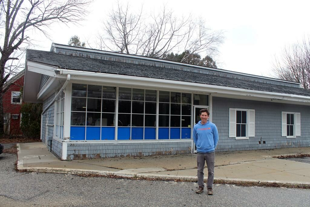 Mike Friedland, owner of Willard Square Home Repair, plans to turn the former Cumberland Farms property on Ocean House Road in Cape Elizabeth into a new business called The Lumbery.