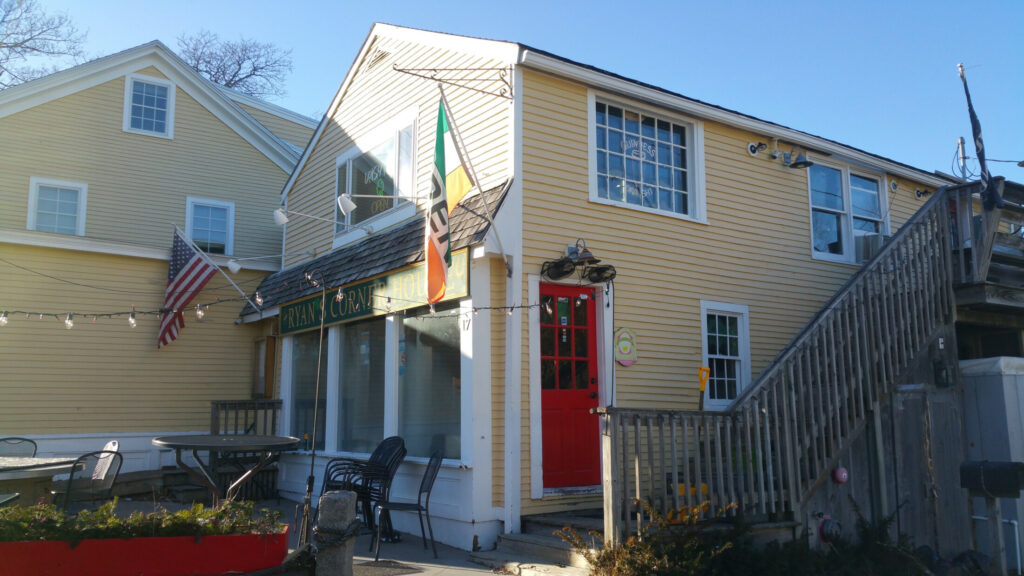 Ryan's Corner House in downtown Kennebunk