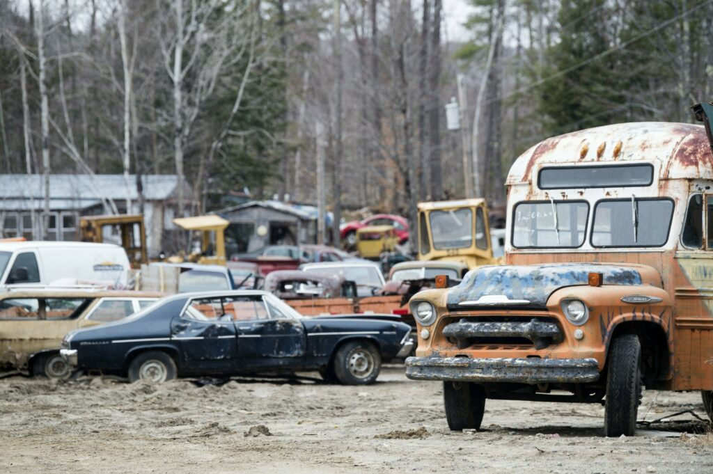A hearing is scheduled for May 29 in Waterville to determine how and when a junkyard owned by Larry and Janet DiPietro, at 602 Augusta Road in Rome, will be cleand up, and whether fines or penalties will be imposed.