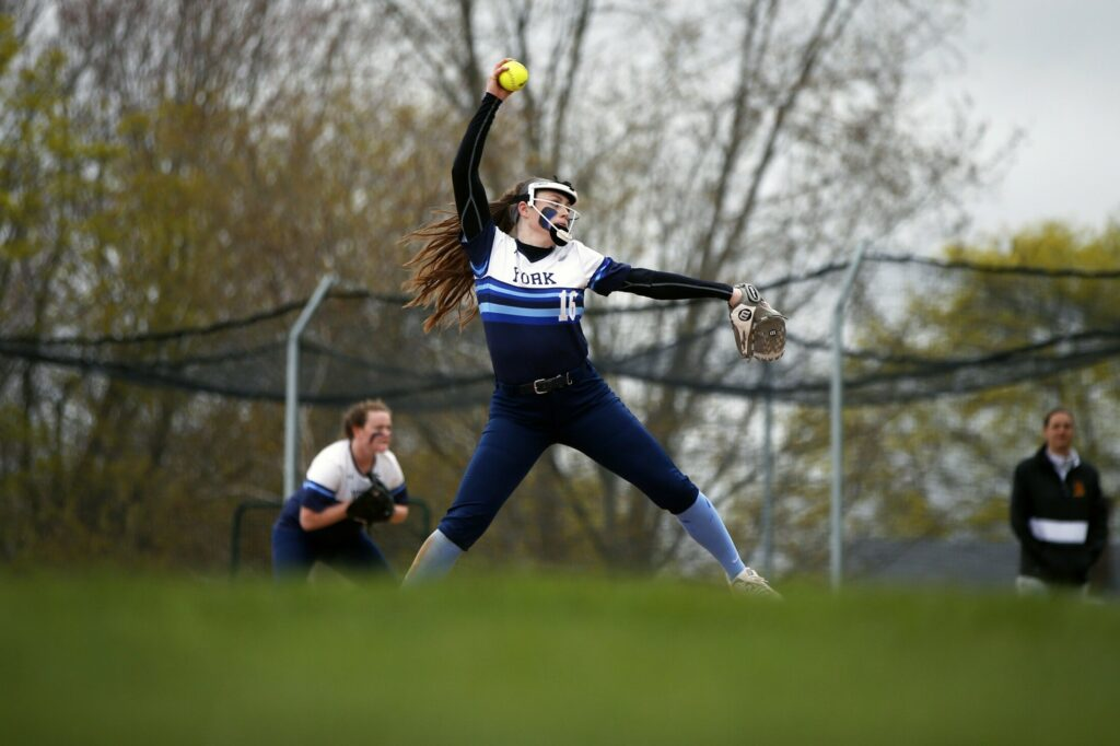 Pitching or scoring, Abby Orso was the key player Monday as York improved to 8-2 and made up for an earlier loss by defeating Cape Elizabeth on the road, 3-0.