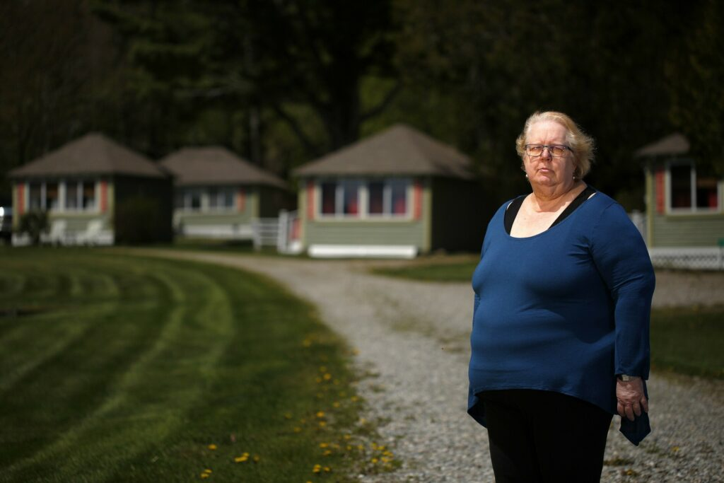 Jane Liedtke, owner of Bay Leaf Cottages and Bistro in Lincolnville, started getting unexpectedly high CMP bills two years ago despite shutting off power to her motel and 12 cottages.