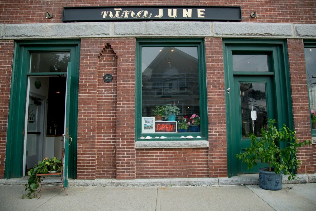 Well-known NYC chef Sara Jenkins came home to Maine a few years ago to open Nina June in Rockport.