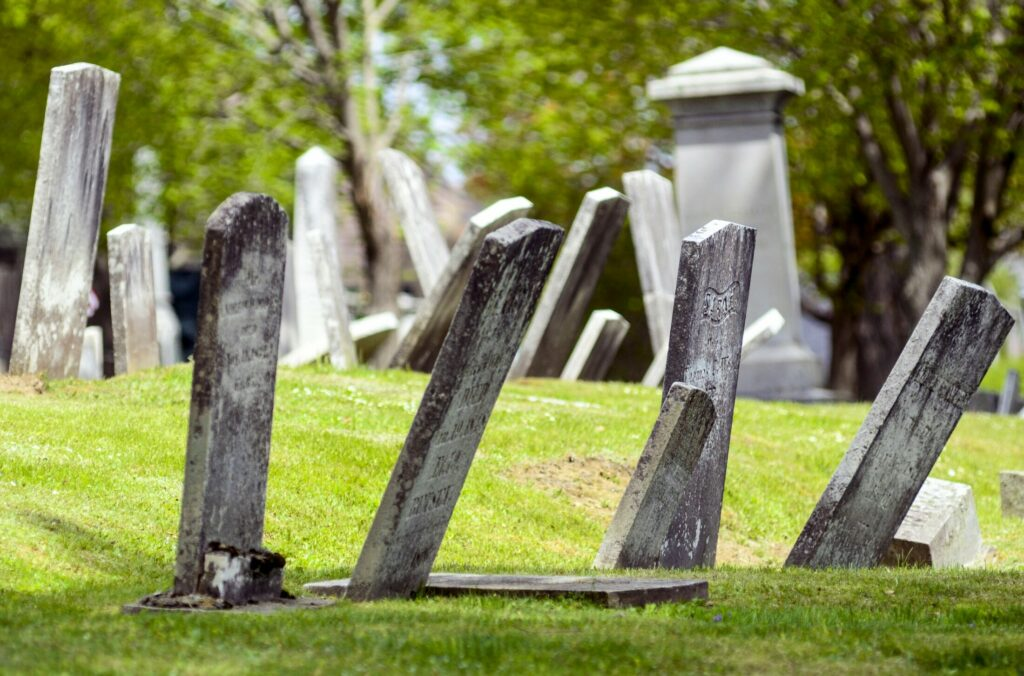 Damage in central Maine cemeteries outpacing funding for repairs