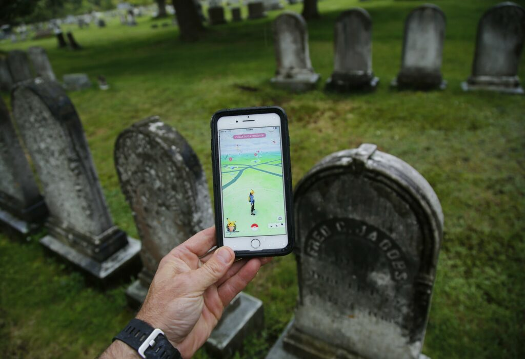 Portland has asked the makers of the augmented reality game Pokemon Go to remove Evergreen Cemetery because of players who drive through the  graveyard looking for the virtual characters.