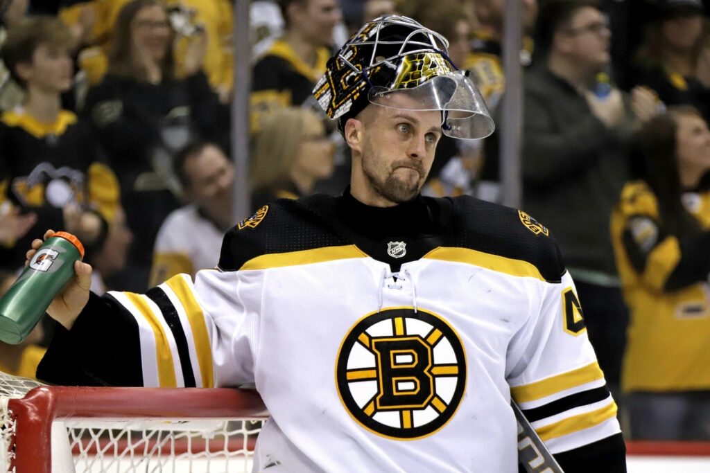 Boston Bruins backup goalie Jaroslav Halak played a season with the Lewiston Mainiacs of the Quebec Major Junior Hockey League.