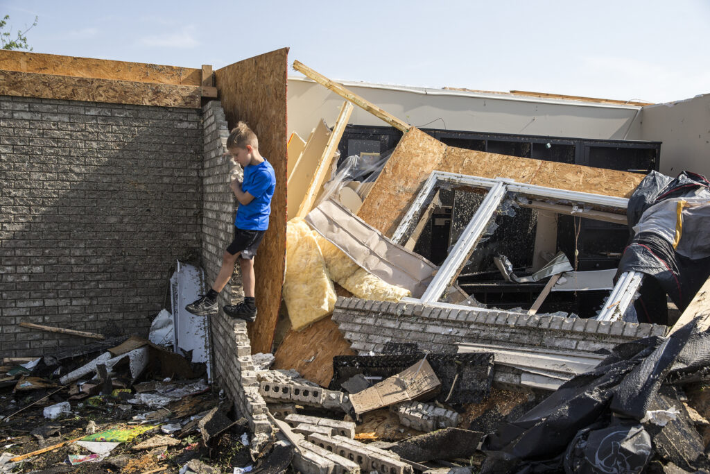 See The Devastation Left By Violent Storms Across Multiple