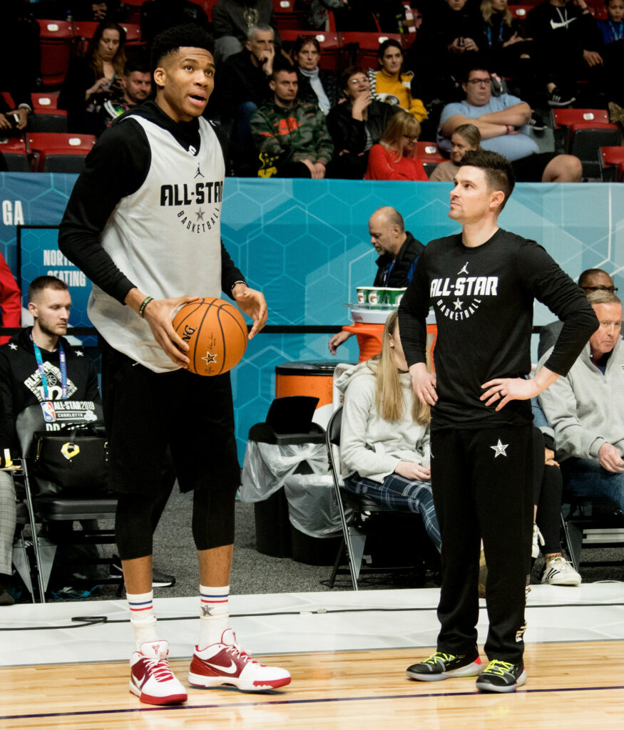 Portland High Grad Now Holding Court With Bucks