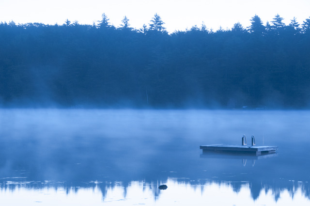 Lynn Karlin Sea Smoke on Maine Pond, Photograph, 2011.