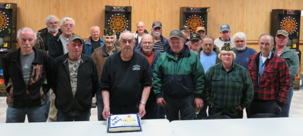 Mdison's American Legion Tardiff-Belanger Post 39  members, front from left, are  Lou Padula, David Trask, Cmdr. H. Ralph Withee, Raymond Luce, Kathy Lightbody and Ron Page. Middle row from left are Dana Pollis, Gene Tweedie, Gene Dube, Cecil Dow, Gary McLaughlin, Ed Skovish and Dan Oussock. Back row from left are Pat Flanagin, John Bryant, Jim Garland, Jim Saunders, Curt Sanborn, Allen Lessard and Joe Slavinski