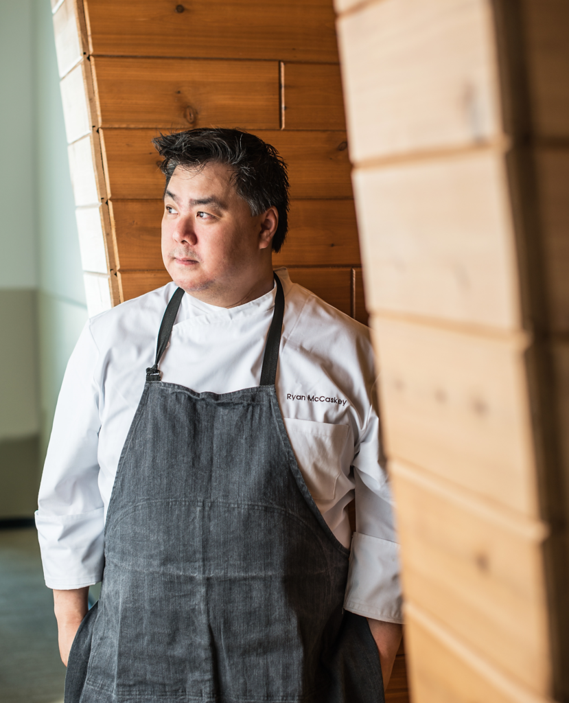 Chef Ryan McCaskey, owner of the two Michelin-starred Acadia restaurant in Chicago, is opening a new restaurant this summer in his second home, Stonington, Maine.