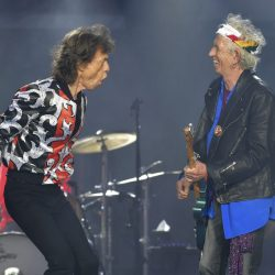 Mick Jagger, Ronnie Wood, Keith Richards