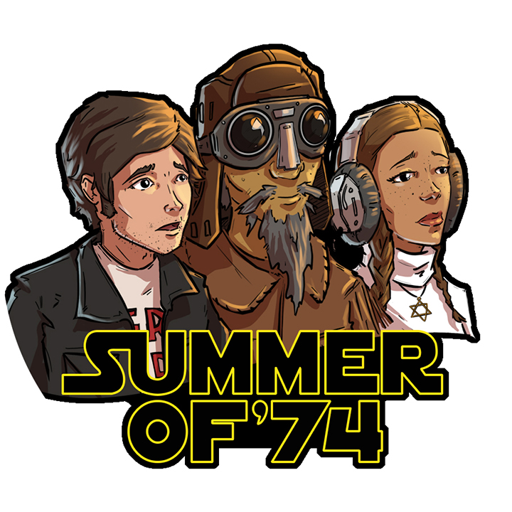 Image result for summer 74 star wars