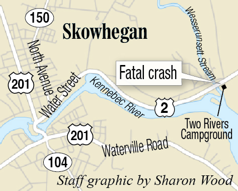 One dead in head-on accident on US Route 2 in Skowhegan