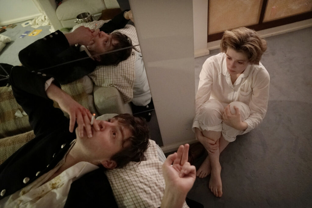 """Photo by Nicola Dove Tom Burke and Honor Swinton Byrne in a scene from """"The Souvenir."""""""