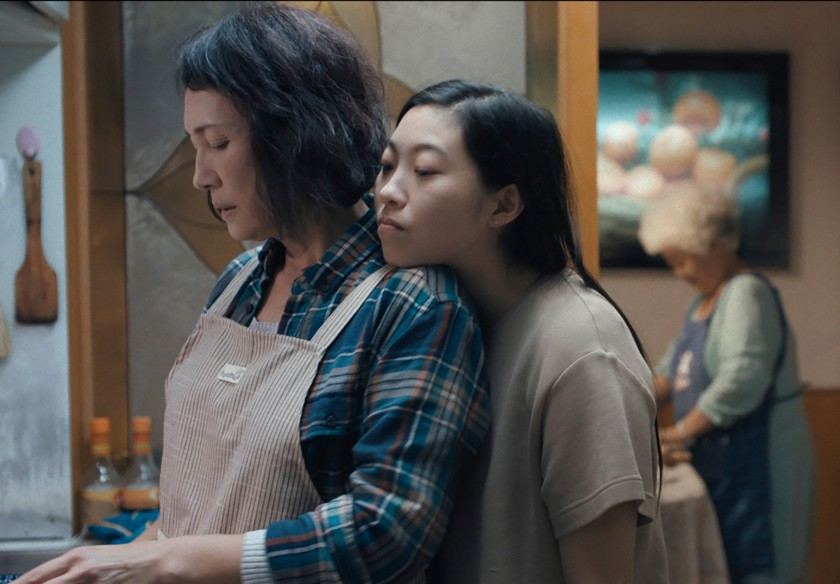 """Diana Lin, left, and Awkwafina in a scene from the film """"The Farewell."""""""