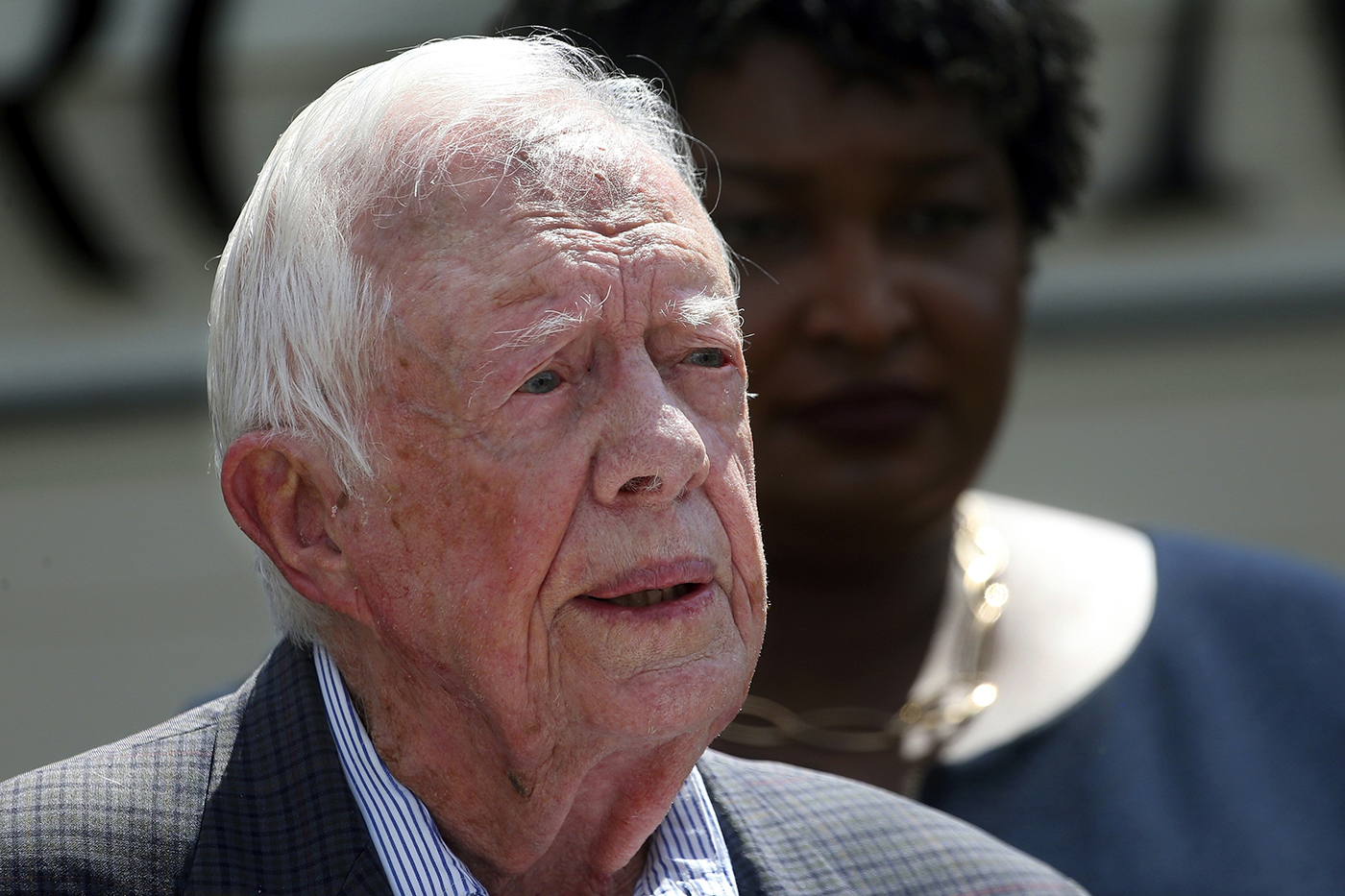 Former president Jimmy Carter released from hospital after