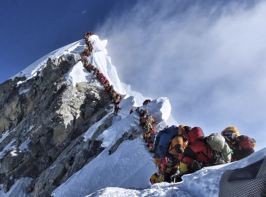 What's behind the spike in deaths on Mount Everest?