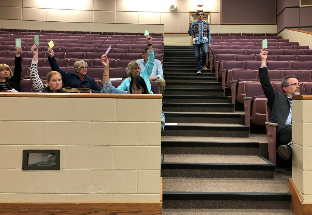 Residents voice strong support for RSU 18's $38.7 million budget
