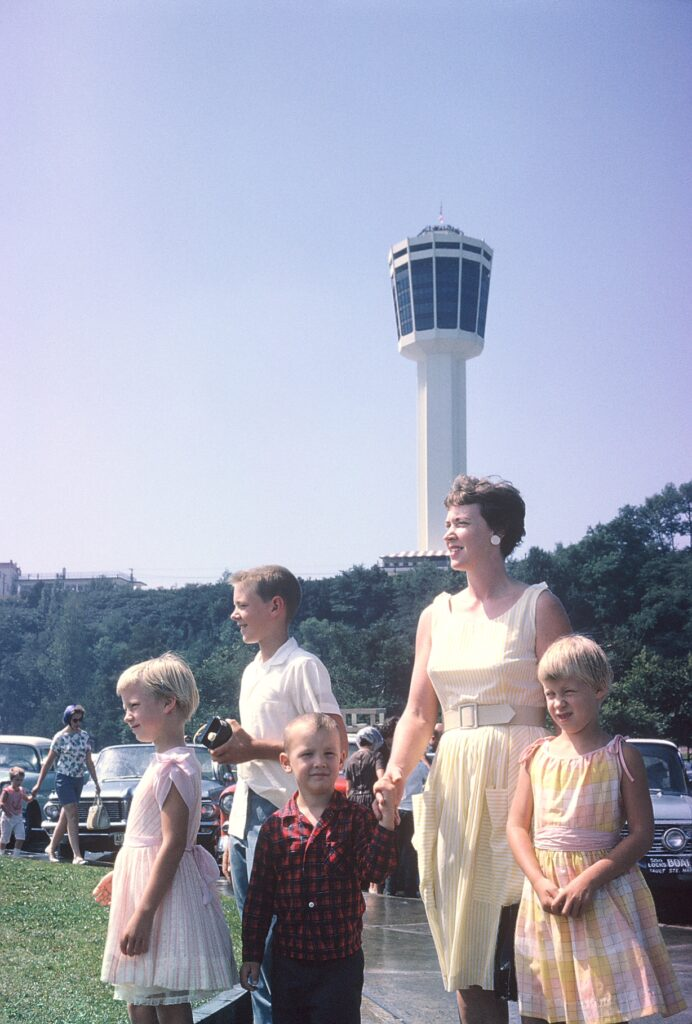 This 1960 photo of Wendy Newmeyer's family was taken at Niagara Falls. Wendy said she has always been inspired by her mom to dream big. From left to right are Robin, Sandy, Randy, Mom Jeanne and Wendy.