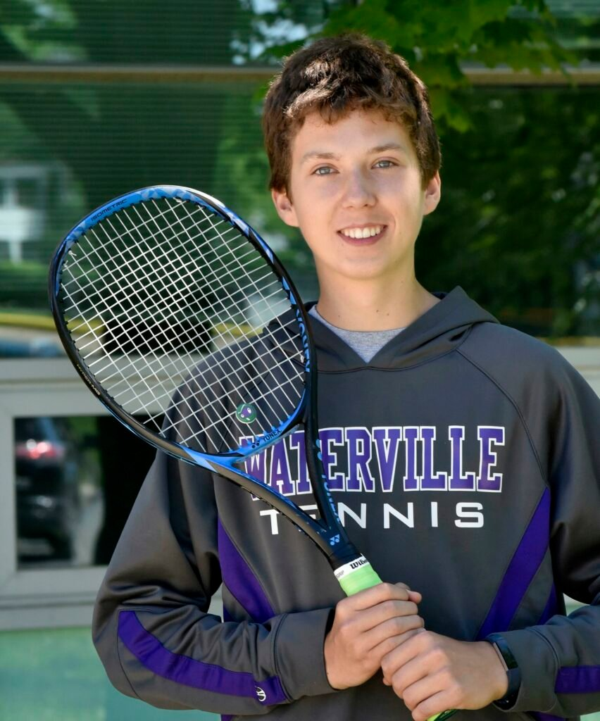 Waterville's Charlie Haberstock is the Morning Sentinel Boys Tennis Player of the Year