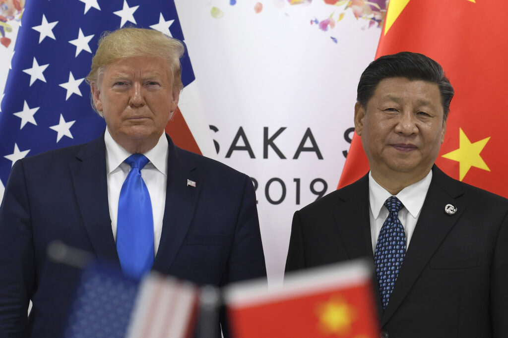 President Trump said Tuesday that a new trade deal with China might not come until after next year's election. Despite Trump and Chinese President Xi Jinping agreeing last month to restart negotiations, the bargaining has been slow to resume.