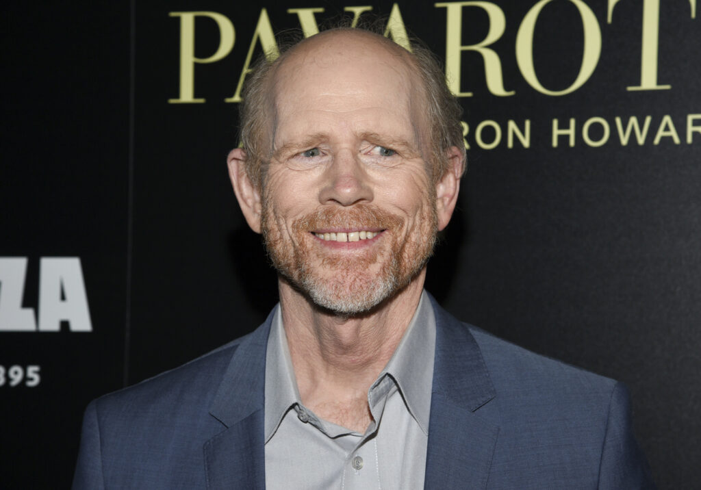 "Director Ron Howard attends a special screening of ""Pavarotti"" at the iPic Theater in New York."