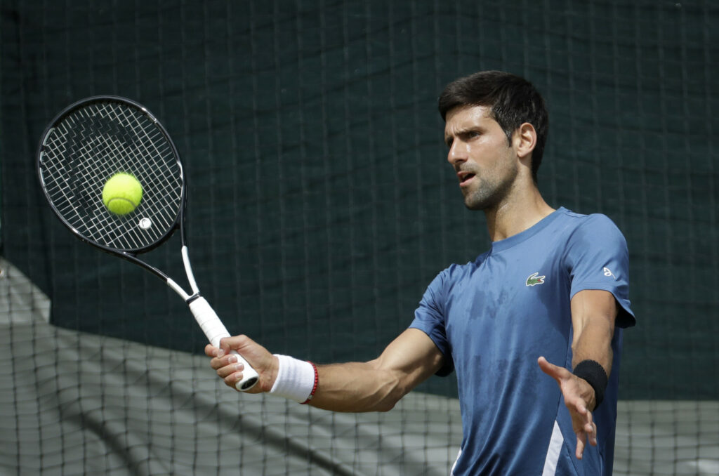 Novak Djokovic has made quite a comeback after entering Wimbledon in the midst of a rut last year. He won Wimbledon last year and is ranked No. 1 as the tournament starts Monday.