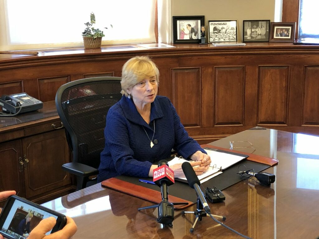Gov. Janet Mills has yet to decide whether to sign a bill extending Maine's use of ranked-choice voting to presidential primaries and elections.