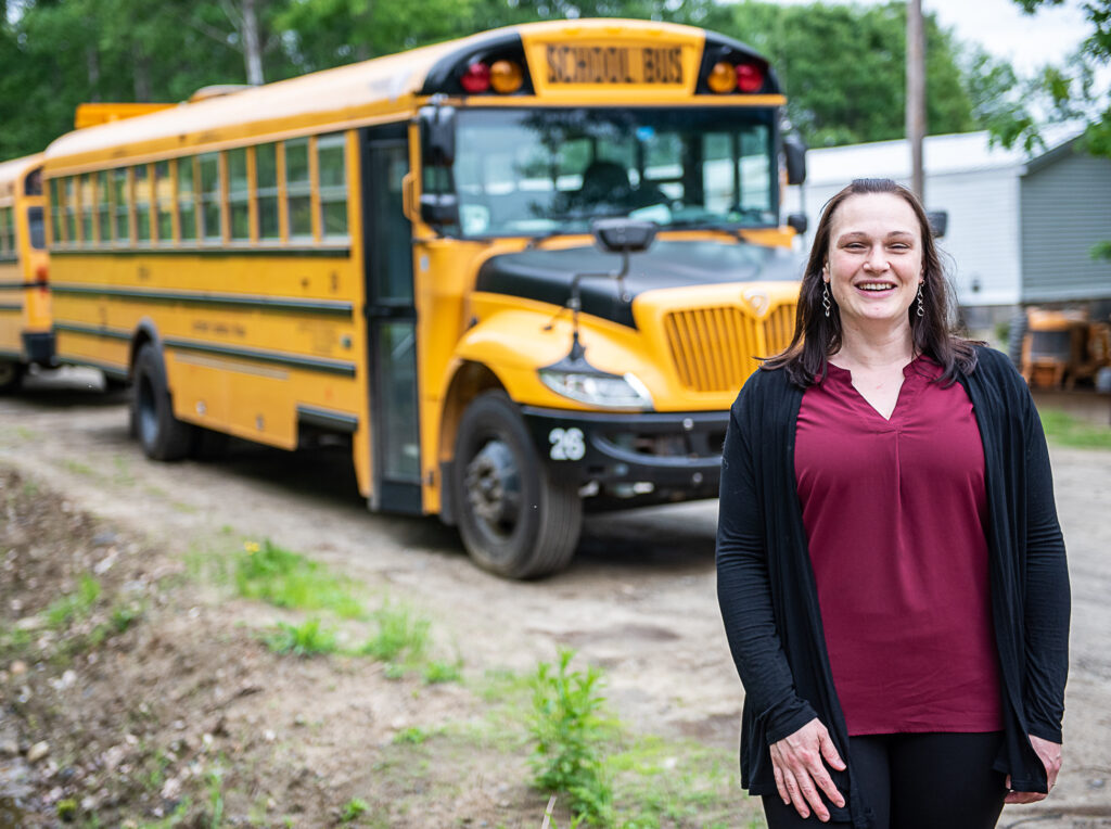 RSU 4 school bus driver honored for saving bus full of kids