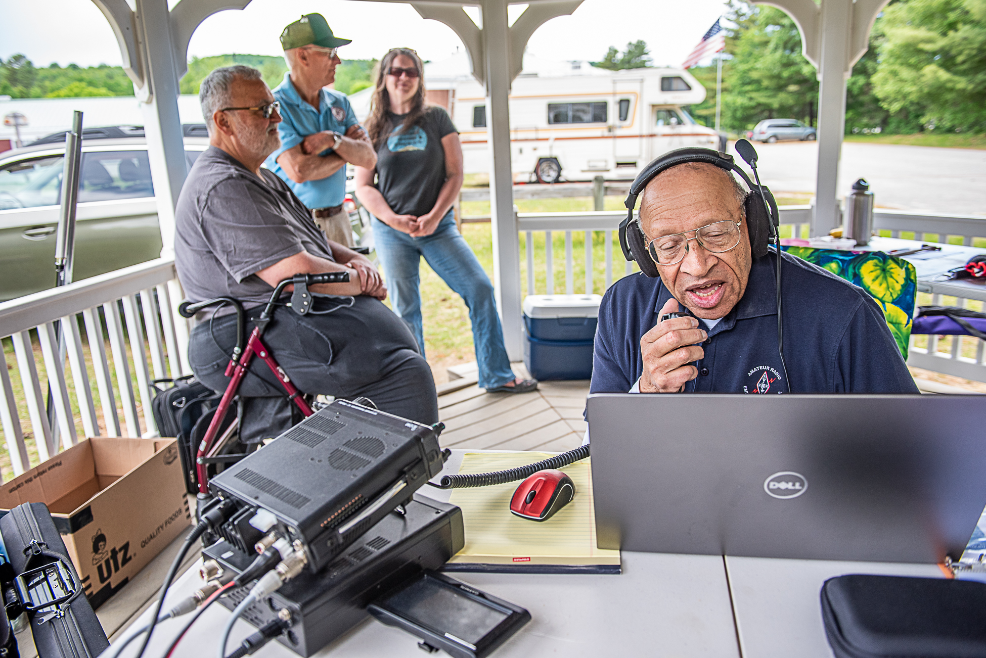 Ham operators take to the field in Sumner | Lewiston Sun Journal